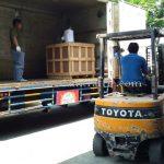 เครื่องตีเส้นแบบอัตโนมัติส่งออกไปประเทศพม่า အလိုလျှောက်လမ်းမျဥ်းဆွဲစက် ထိုင်းနိုင်ငံထုတ်ပစ္စည်း