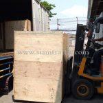 เครื่องต้มสีตีเส้นถนนส่งออกไปประเทศพม่า လမ်းမျဥ်းဆွဲဆေးရောင်ပျုတ်စက် ထိုင်းနိုင်ငံထုတ်ပစ္စည်း