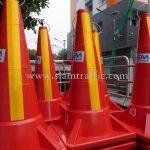 construction cones บริษัท ทางด่วน และรถไฟฟ้ากรุงเทพ จำกัด (มหาชน)