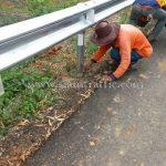 w-beam guardrails หนา 3.2 มิลลิเมตร (Class I Type I) มอก.ที่ 248-2531 ศูนย์สร้างทางหล่มสัก
