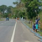 w-beam guardrails แขวงทางหลวงตราด