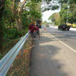 guardrails แขวงทางหลวงตราด ทางหลวงหมายเลข 3 ตอนควบคุม 0701 ตอน บ้านพลิ้ว – แม่น้ำเวฬุ
