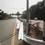 w-beam guardrails แขวงทางหลวงอุตรดิตถ์ที่ 1