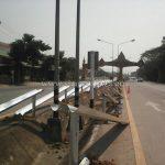 galvanized w beam guard rails crash barrier แขวงทางหลวงอุตรดิตถ์ที่ 1