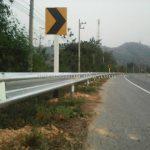 guardrail กรมทางหลวง แขวงทางหลวงอุตรดิตถ์ที่ 1 ทางหลวงหมายเลข 11 และทางหลวงหมายเลข 1054