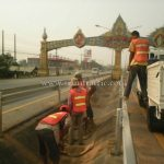 guard rail บึงหลัก – หนองน้ำเขียว นาอิน – ชัยมงคล และอุตรดิตถ์ - วังสีสูบ
