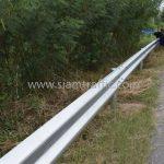guardrail แขวงทางหลวงฉะเชิงเทรา ปริมาณงาน 1,152 เมตร