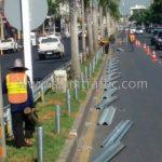 งานจ้างเหมาทำการงาน w beam guardrail แขวงทางหลวงฉะเชิงเทรา