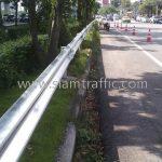 guardrails ในทางหลวงหมายเลข 34 ตอน บางนา - ทางเข้าท่าอากาศยานสุวรรณภูมิ