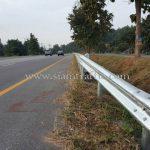 highway guardrail ทางหลวงหมายเลข 1 ตอน แม่กา – แยกประตูชัย กม.816+250 – กม.821+270