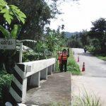 guard rail แขวงทางหลวงระนอง ปริมาณงาน 528 เมตร เสาเสริมจำนวน 88 ต้น