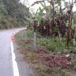 hot dipped galvanized road guard rails แขวงการทางน่านที่ 2 ทางหลวงหมายเลข 1081 ตอน หลักลาย – บ้านเวร จำนวน 1,096 เมตร