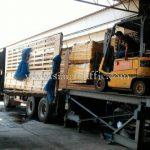 สีทาถนน 30% สีเหลือง TRI-STAR (มอก.) จำนวน 1,500 ถุง ส่งออกไปประเทศพม่า