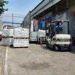 สีเทอร์โมพลาสติก สีขาว 250 ถุง สีเหลือง 250 ถุง ส่งออกไปที่พนมเปญ ประเทศกัมพูชา