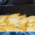 ขายสีทาถนน สีเหลือง TRI-STAR (มอก.) จำนวน 100 ถุง