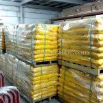 สีทาถนน สีเหลือง TRI-STAR (มอก.) จำนวน 1,500 ถุง ส่งไปเมียวดี ประเทศพม่า