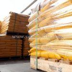 สีทาถนนสะท้อนแสง สีเหลือง TRI-STAR (มอก.) จำนวน 1,500 ถุง ส่งไปเมียวดี ประเทศพม่า