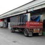 สีทาเส้นถนน สีเหลือง TRI-STAR (มอก.) จำนวน 1,500 ถุง ส่งไปเมียวดี ประเทศพม่า