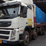 สีจราจรทาถนน สีเหลือง TRI-STAR (มอก.) จำนวน 1,500 ถุง ส่งไปเมียวดี ประเทศพม่า