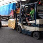 สีเทอร์โมพลาสติก สีเหลือง TRI-STAR (มอก.) จำนวน 1,500 ถุง ส่งไปเมียวดี ประเทศพม่า