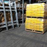 thermoplastic paint สีเหลือง TRI-STAR (มอก.) จำนวน 1,500 ถุง ส่งไปเมียวดี ประเทศพม่า
