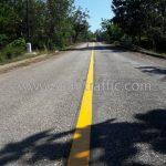 ตีเส้นถนนด้วยวัสดุเทอร์โมพลาสติก ทางหลวงหมายเลข 1294 ตอน เมืองเก่า - อุทยานแห่งชาติศรีสัชนาลัย