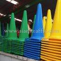 กรวยจราจร สีเหลือง สีเขียว สีน้ำเงิน บริษัท เอ.พี.ฮอนด้า จำกัด