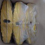 ยางชะลอความเร็ว สีเหลือง 10 ท่อน สีดำ 8 ท่อน ส่งออกไปกัมพูชา