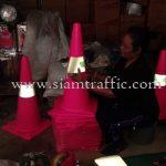 safety reflective traffic cone บริษัท โรงพยาบาลนนทเวช จำกัด (มหาชน)