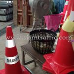 safety road cones อบต.มาบยางพร