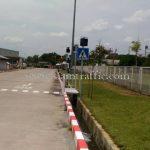 ป้ายสัญลักษณ์ คนข้ามถนน Toyota Motor Thailand Co., Ltd. Banpho Plant