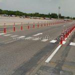 เสาจราจรพลาสติก จำนวน 218 ต้น Toyota Motor Thailand Co., Ltd. โรงงานบ้านโพธิ์ แผนก VL