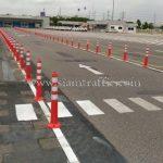 เสาล้มลุกพลาสติก จำนวน 218 ต้น Toyota Motor Thailand Co., Ltd. โรงงานบ้านโพธิ์ แผนก VL