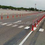 เสาหลักนำทางพลาสติก จำนวน 218 ต้น Toyota Motor Thailand Co., Ltd. โรงงานบ้านโพธิ์ แผนก VL