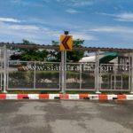 ไฟกระพริบเชฟร่อนพลังงานแสงอาทิตย์ บริษัท โตโยต้า มอเตอร์ ประเทศไทย จํากัด โรงงานบ้านโพธิ์ แผนก VL