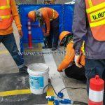การติดตั้งเสาล้มลุก จำนวน 452 ต้น บริษัท โตโยต้า มอเตอร์ ประเทศไทย จํากัด โรงงานสำโรง