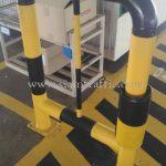 นวมหุ้มกันกระแทกแผงรั้วทางเดิน บริษัท โตโยต้า มอเตอร์ ประเทศไทย จํากัด โรงงานสำโรง