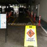 การติดตั้งเสาพลาสติกล้มลุก จำนวน 452 ต้น บริษัท โตโยต้า มอเตอร์ ประเทศไทย จํากัด โรงงานสำโรง