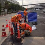 Traffic Equipment For VL Toyota Motor Tthailand VL Samrong Plant