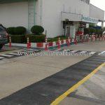 เสาล้มลุกพลาสติก จำนวน 452 ต้น บริษัท โตโยต้า มอเตอร์ ประเทศไทย จํากัด โรงงานสำโรง แผนก VL