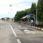ป้ายสัญลักษณ์ คนข้ามถนน (ติดหน้า-หลัง) ขนาด 60 x 60 เซนติเมตรบริษัท โตโยต้า มอเตอร์ ประเทศไทย จํากัด โรงงานสำโรง แผนก VL