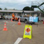 การติดตั้งอุปกรณ์จราจร Toyota Motor Thailand Co., Ltd. สำโรง