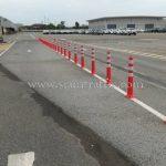 เสาล้มลุก จำนวน 452 ต้น Toyota Motor Thailand Co., Ltd. สำโรง