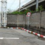 ป้ายจราจรจำกัดความเร็ว Toyota Motor Thailand Co., Ltd. สำโรง แผนก VL
