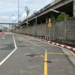 เสาพลาสติกล้มลุก จำนวน 452 ต้น Toyota Motor Thailand Co., Ltd. สำโรง