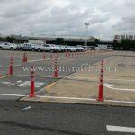 เสาล้มลุกพลาสติก จำนวน 452 ต้น Toyota Motor Thailand Co., Ltd. สำโรง