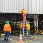 """ป้าย """"ทางเข้า"""" ขนาด 40 x 60 เซนติเมตร บริษัท โตโยต้า มอเตอร์ ประเทศไทย จํากัด โรงงานสำโรง แผนก VL"""