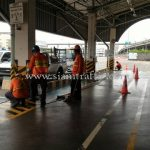 ยางกันชนหุ้ม สีเหลืองสลับสีดำ Toyota Motor Thailand Co., Ltd. Samrong Plant