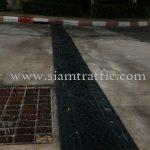 ยางชลอความเร็วรถ หมู่บ้านอรุณพัฒน์ ถนนยานนาวา