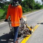 ตีเส้นถนน มอก.542-2549 แขวงทางหลวงสุโขทัย